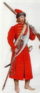 strelec-peshij-russkoe-carstvo
