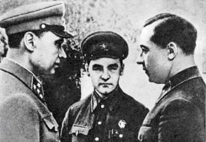 Кирпонос М.П, Бурмистенко М.А., Тупиков В. И. Август 1941.
