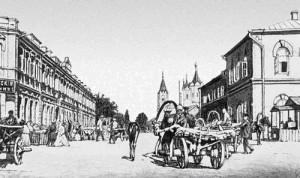 Полтава. Круглая площадь. начало 20-го столетия. ф 21