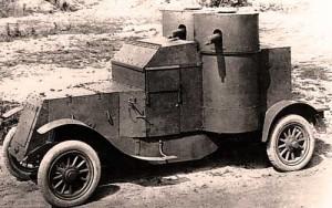 Бронеавтомобиль Остин 2-й. Российская империя. ф 1