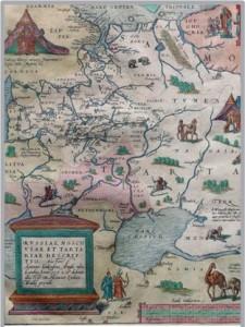 1562 г. Карта Дженкинсона А. ф 1